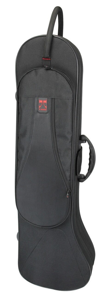Kaces Kaces Lightweight Hardshell Trombone Case, Black KBF-TM1