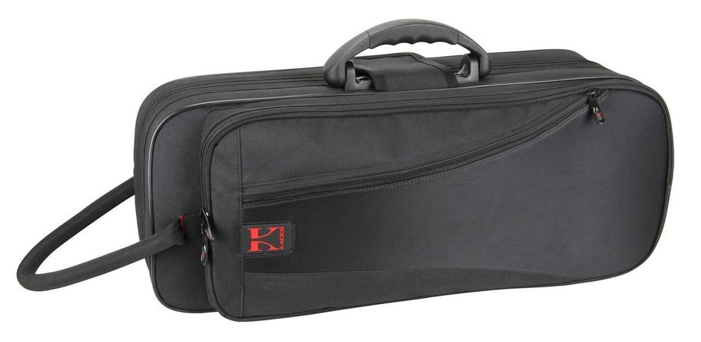 Kaces Kaces Lightweight Hardshell Trumpet Case, Black KBF-TP1