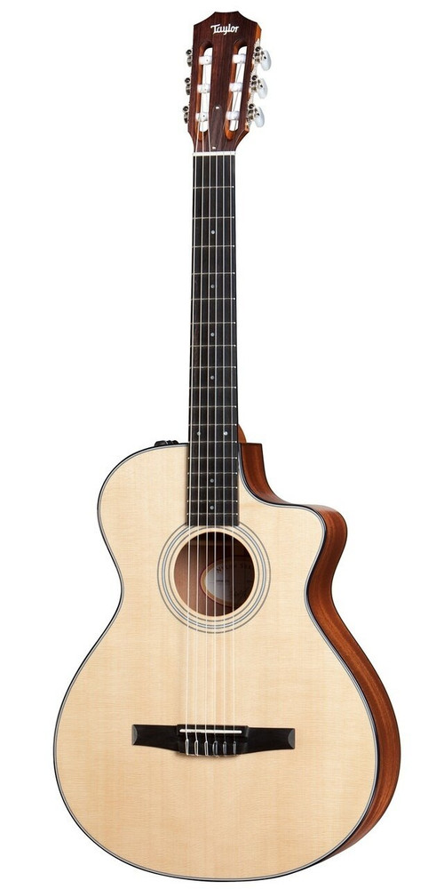Taylor Guitars Taylor 312ce-N Nylon String Grand Concert Acoustic-Electric Guitar