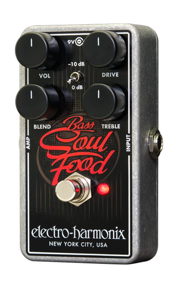 Electro-Harmonix ElectroHarmonix Soul Food Bass Overdrive Pedal MINT
