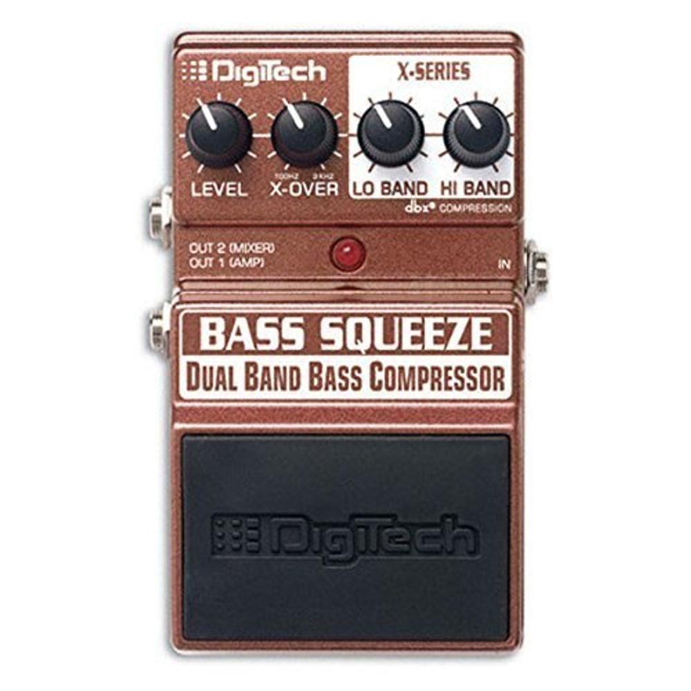 Digitech Digitech XBS Bass Squeeze Compressor Pedal