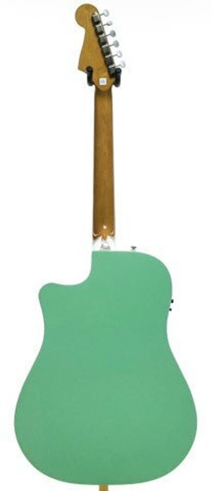 Fender Acoustic Guitars Fender Sonoran SCE Acoustic-Electric Guitar Surf Green