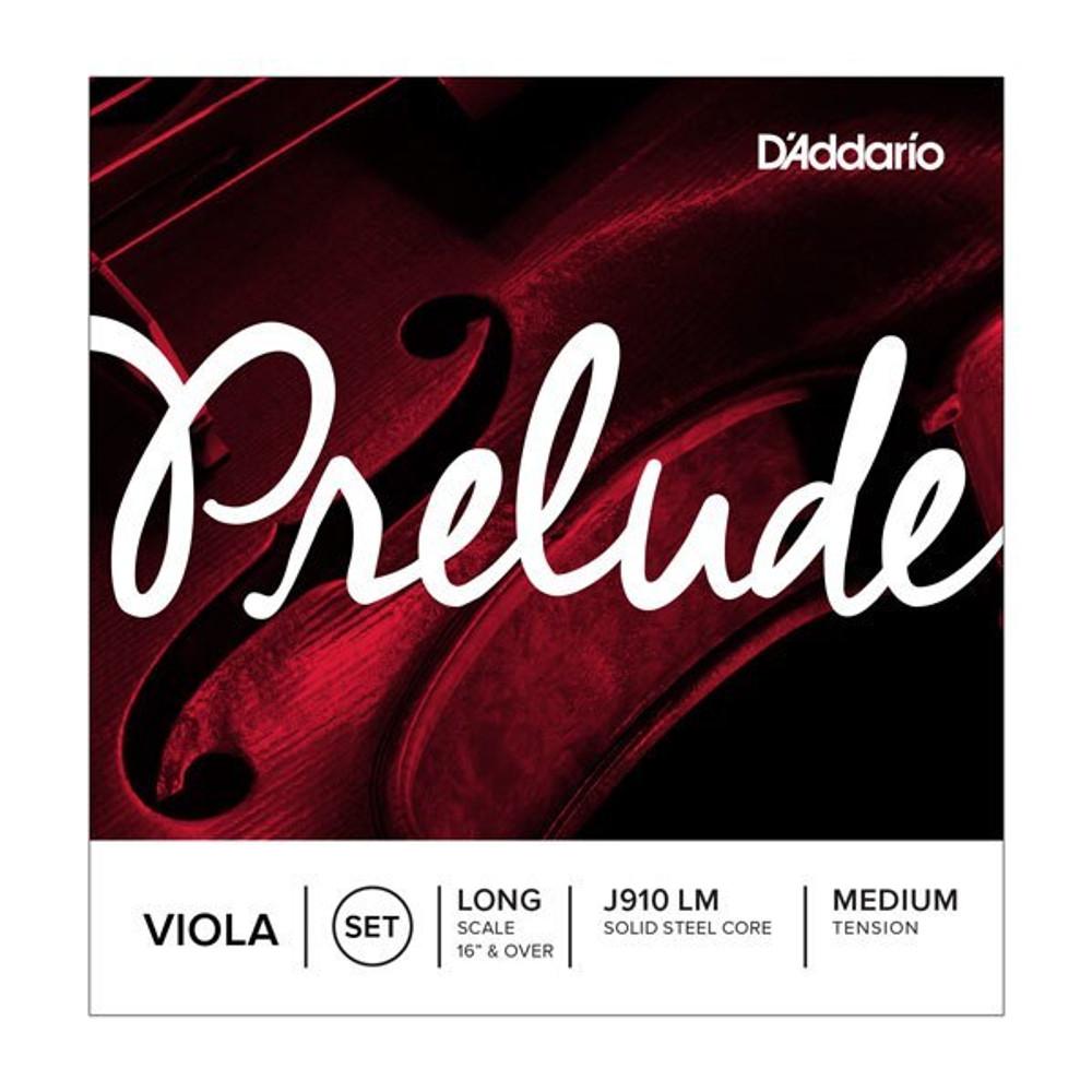 DAddario Daddario Prelude Viola String Set, Long Scale, Medium Tension
