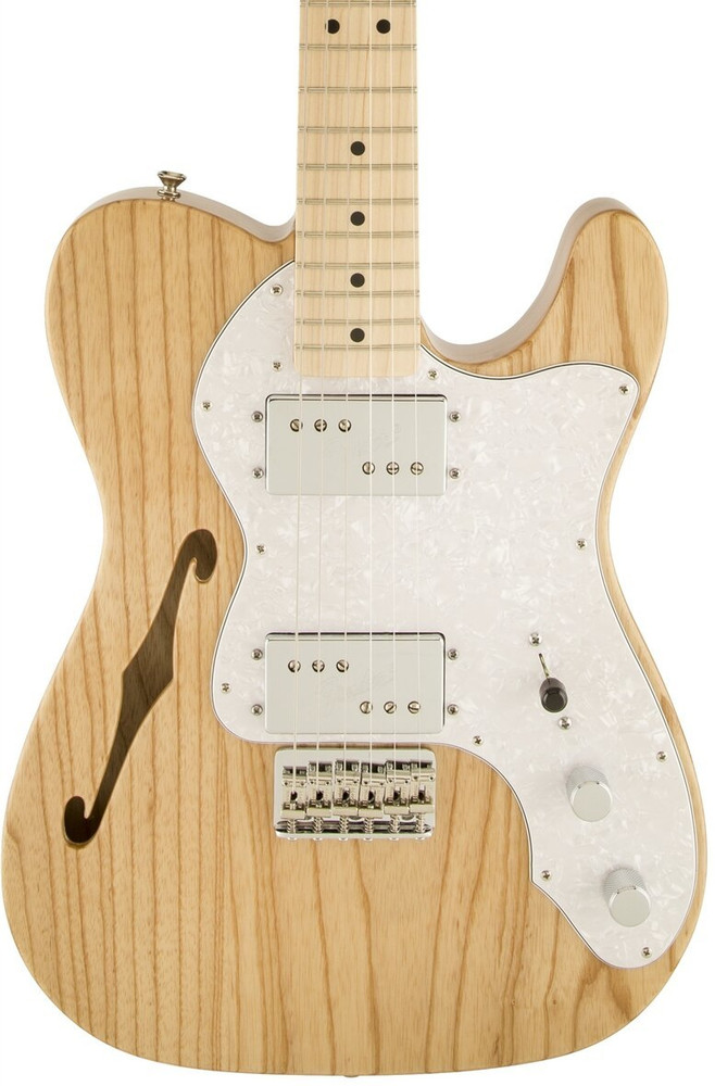 Fender Fender Classic Series 72 Telecaster Thinline Electric Guitar - Natural