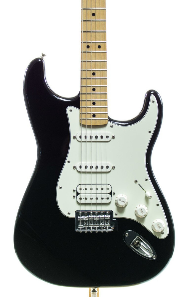 Fender Fender Standard Stratocaster HSS Electric Guitar Black