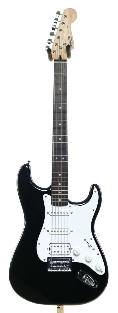 Squier Squier Bullet Stratocaster HSS Electric Guitar Black