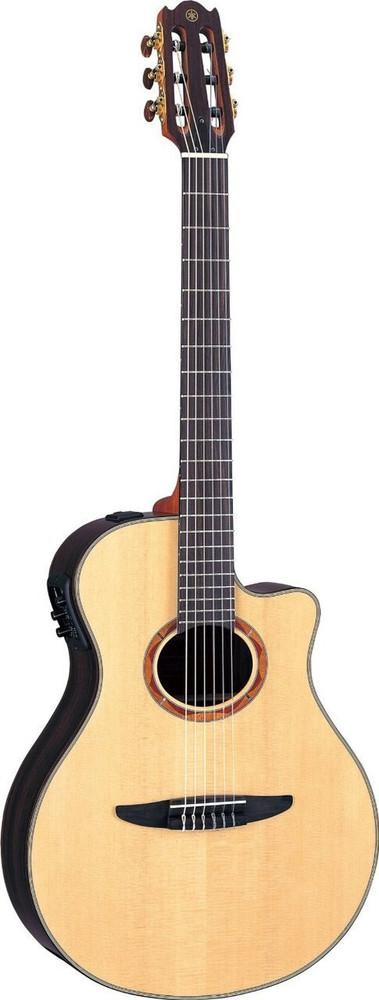 Yamaha Yamaha NTX1200R Acoustic Electric Classical Guitar Natural