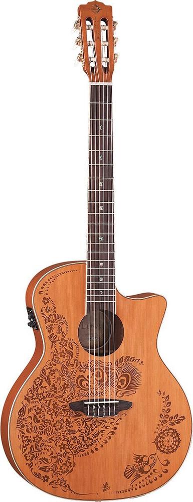 Luna Luna HENO2CDR Henna Oasis A/E Guitar Cedar