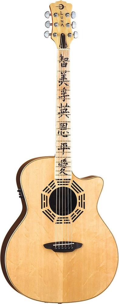 Luna Luna OCLZEN Oracle Zen Guitar