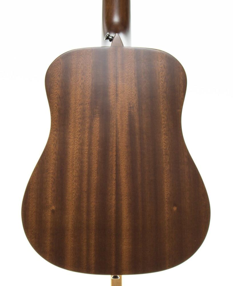 Luna Luna SAFDPN Safari Series Dolphin 3/4 Travel-Size Dreadnought Acoustic Guitar