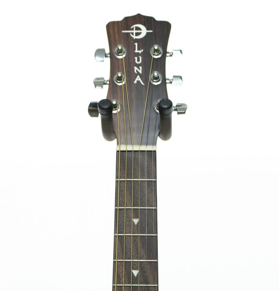 Luna Luna SAFTATTOO Safari Series Tattoo Travel-Size Dreadnought Acoustic Guitar