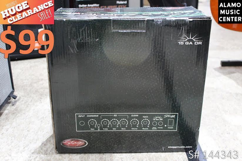 Stagg Stagg 15GADRUSA 15w Guitar Amplifier with Digital Reverb