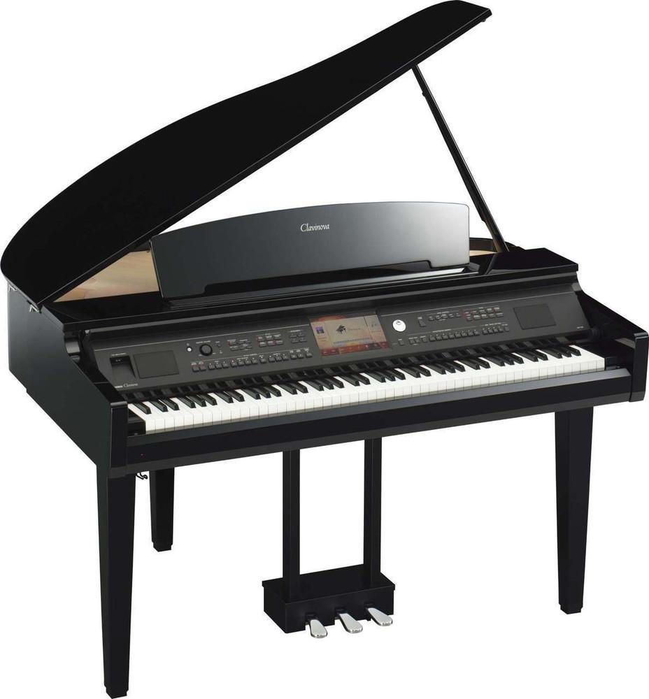 Yamaha Yamaha Clavinova CVP-709GP Digital Grand Piano Ebony