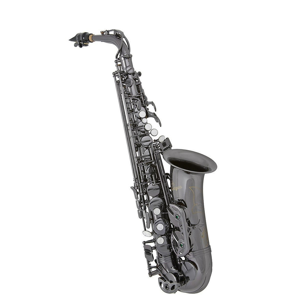 Antigua Winds Antigua Winds AS3100 Eb Alto Saxophone Black Nickel Plated Keys