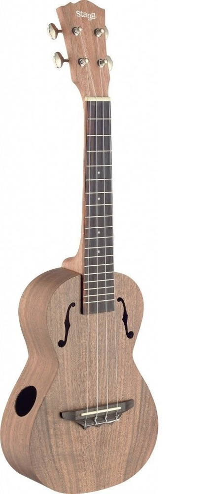 Stagg UCX-ACA-S Concert Ukulele with Solid Acacia Top - Natural Matte