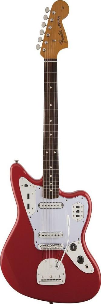 Fender Fender 60s Jaguar Lacquer Fiesta Red Rosewood Fingerboard