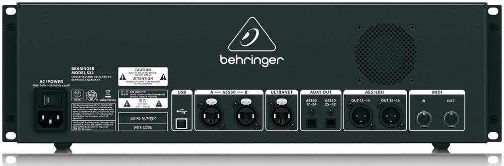 Behringer S32 32 Input Digtial Stagebox Snake System