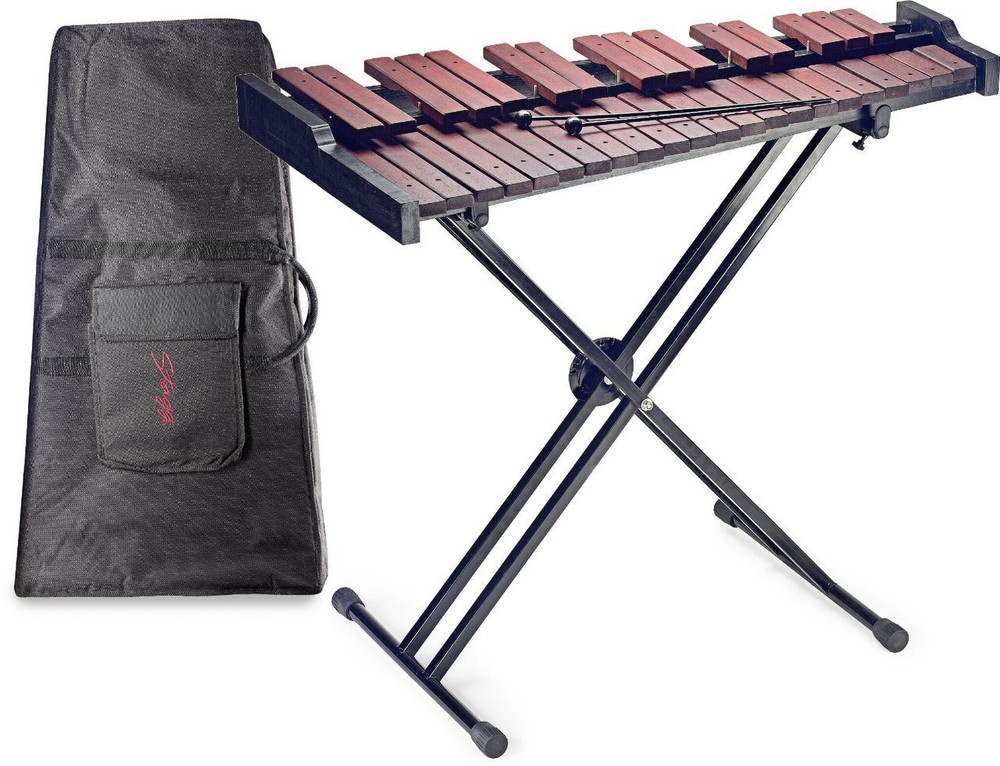 Stagg Stagg XYLOSET37 37-Key Xylophone w/ Mallets and Stand