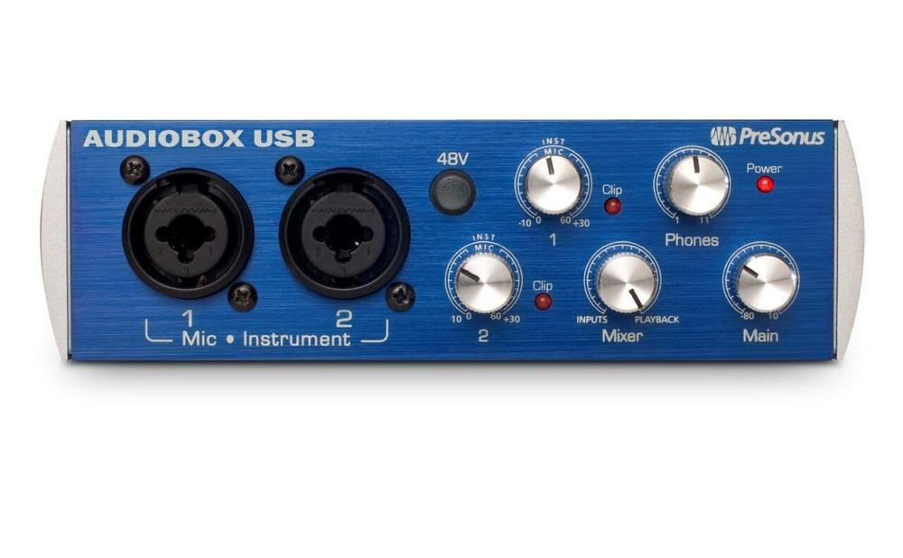 PreSonus PreSonus AudioBox USB Audio Interface 2-in/2-out
