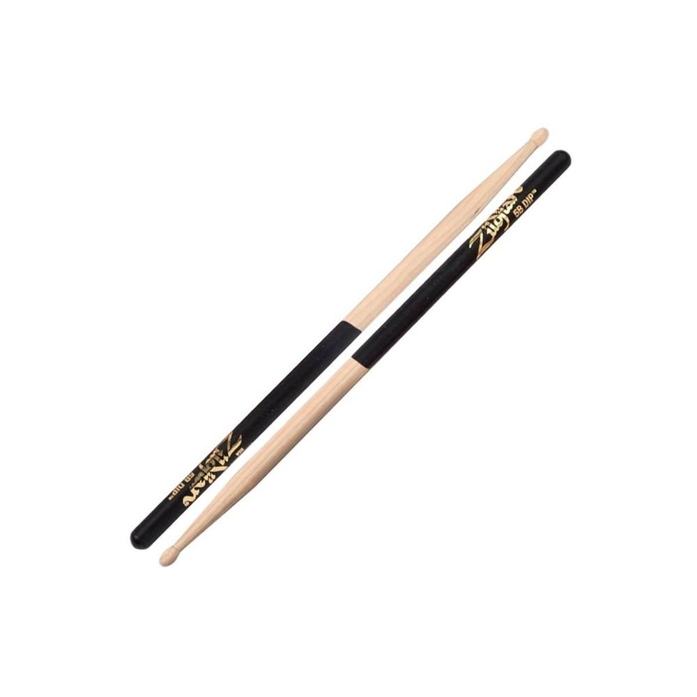 Zildjian Zildjian 5B Black Dipped Wooden Drumsticks