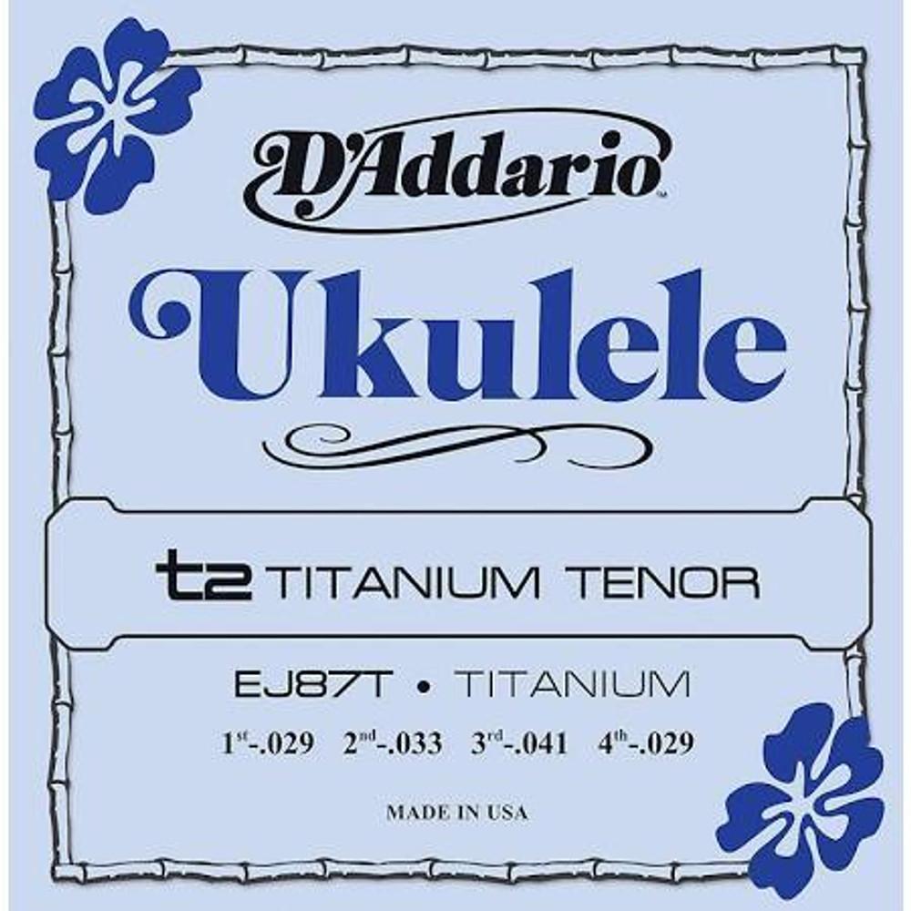 DAddario DAddario Titanium Tenor Ukulele Strings
