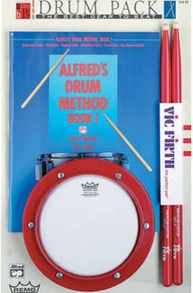 Remo Remo Alfred Drum Practice Pad Pack