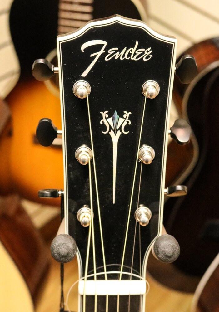 Fender Acoustic Guitars Fender PM-2 Paramount Deluxe Parlor Acoustic Guitar Vintage Sunburst