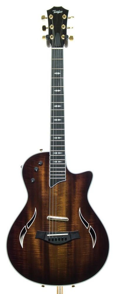 Taylor Guitars Mint - Taylor T5z Custom Cutaway Koa Top Acoustic-Electric Guitar Shaded Edgeburst MINT