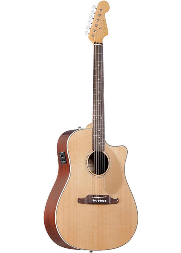 Fender Acoustic Guitars Fender Sonoran SCE Cutaway Acoustic/Electric Natural