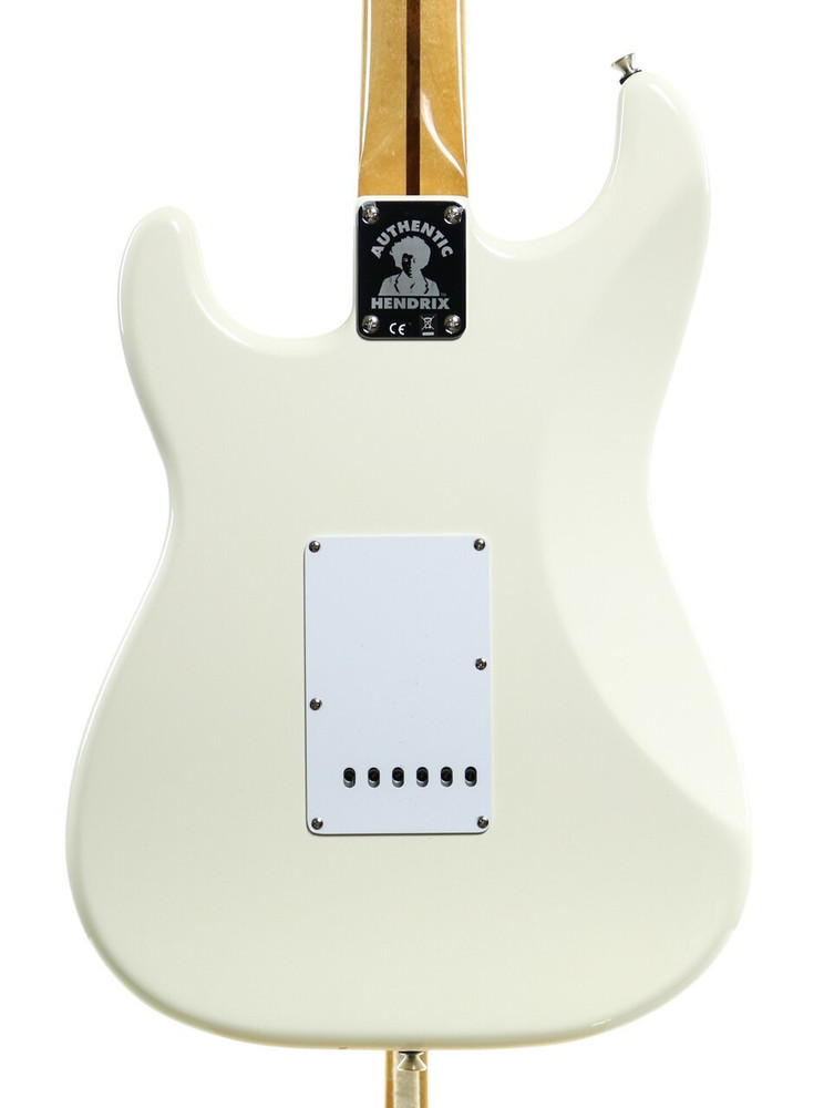 Fender Fender Jimi Hendrix Stratocaster Electric Guitar Olympic White