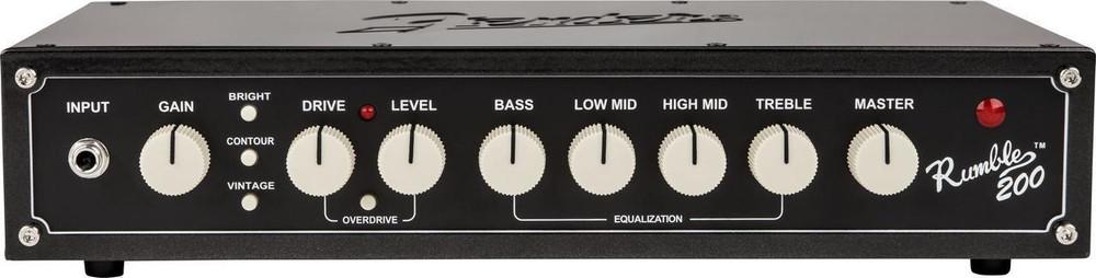 Fender Fender Rumble 200 Watt Bass Amplifier Head