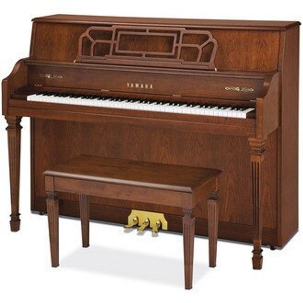 Yamaha Used Yamaha M560 44 Upright Gallery Collection Piano Hancock Brown Cherry