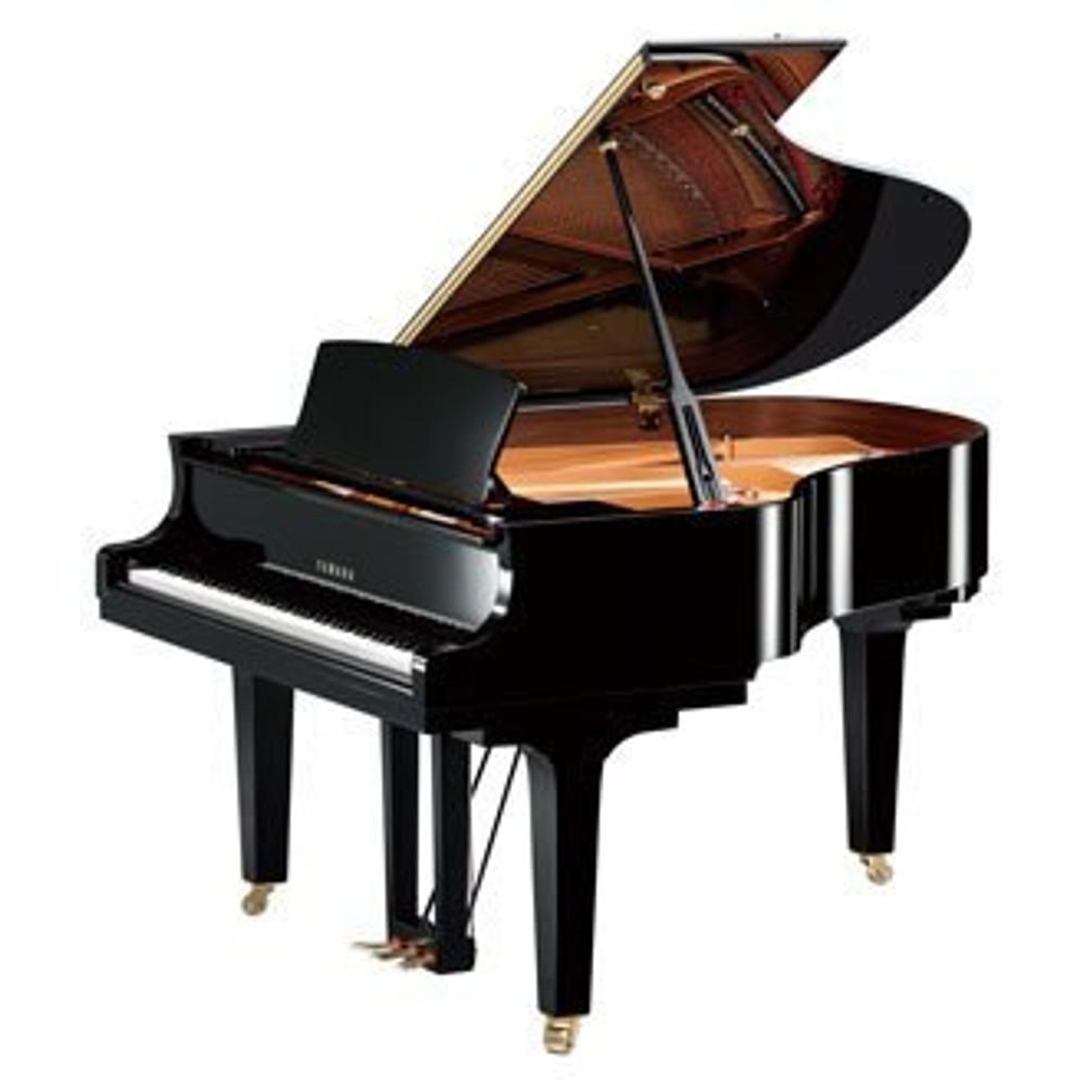Yamaha Used Yamaha C2XPE Conservatory Grand Piano Polished Ebony