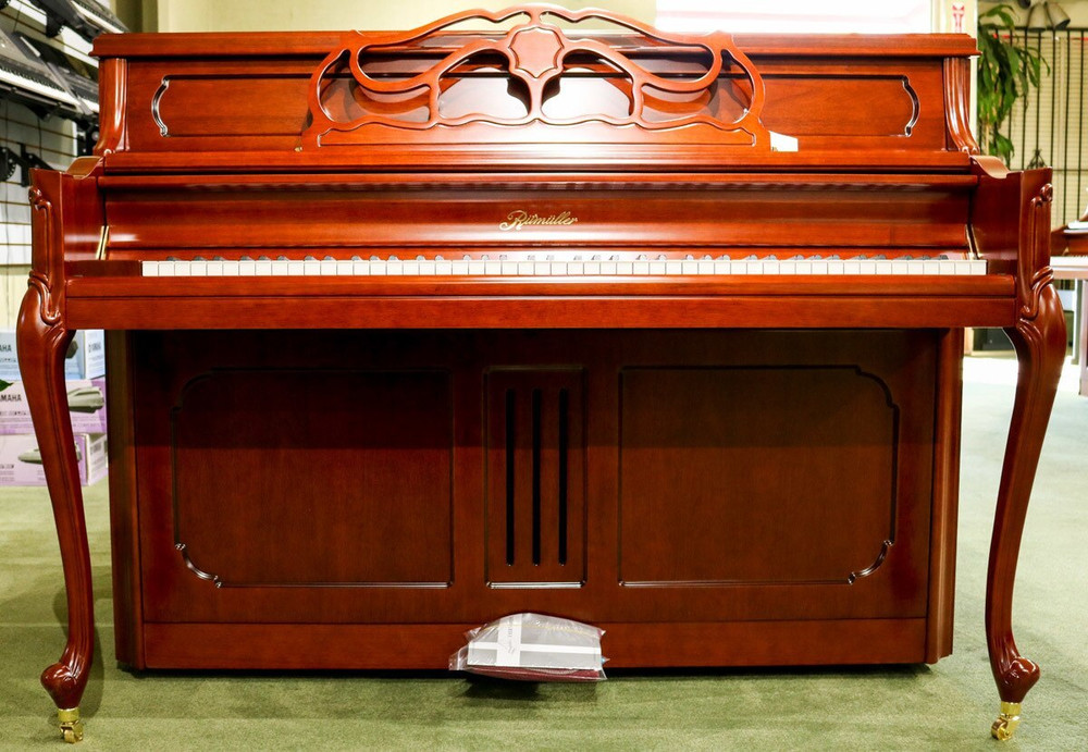 Ritmuller Ritmuller UP110RB Classic Series Upright Piano - Cherry