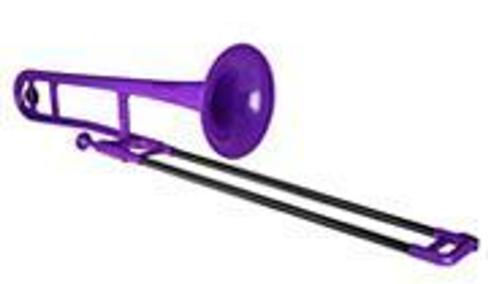 Jiggs PBONE1P Purple Plastic Trombone