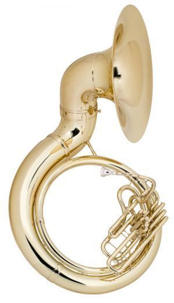 Conn-selmer Conn Model 20KW Sousaphone with Case, Clear Lacquer