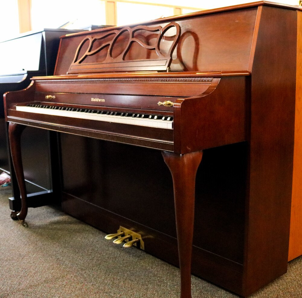 Baldwin Baldwin Queen Anne Console Piano - Cherry