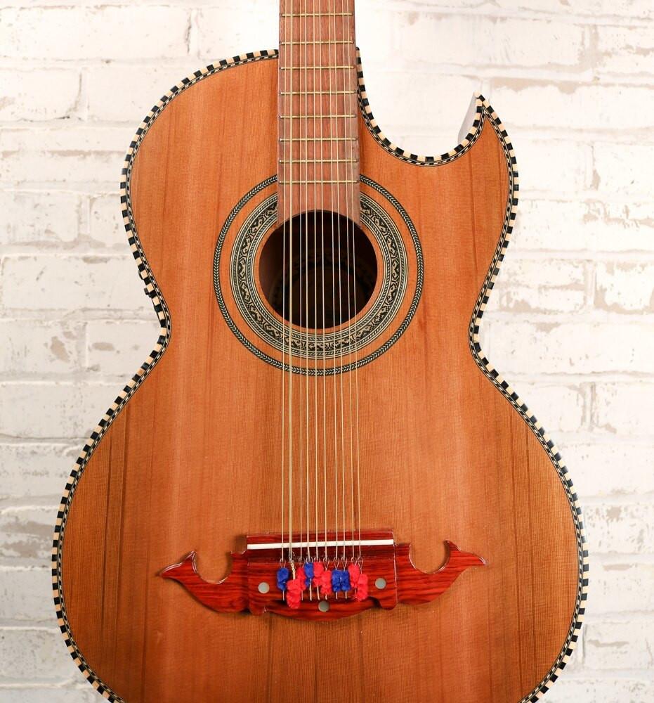 Paracho Elite Paracho Elite Laredo-E Bajo Quinto Electric Acoustic