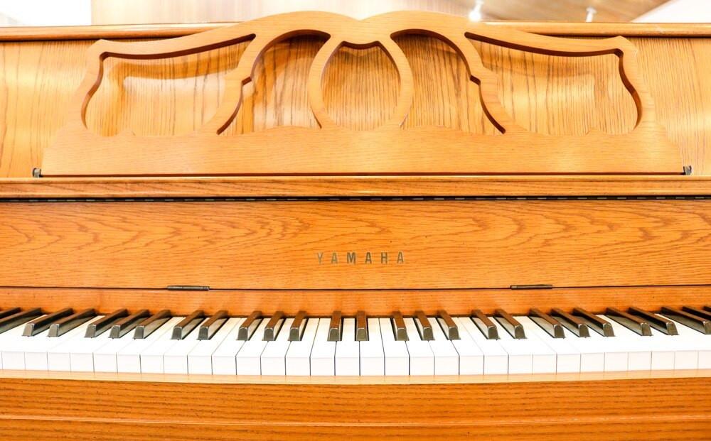 Yamaha Yamaha M500F Console Oak Piano