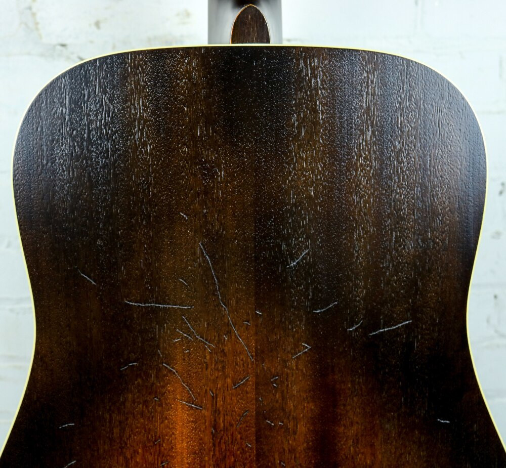 Ibanez Ibanez AVD6DTS Artwood Series Dreadnought Acoustic Distressed Tobacco Sunburst