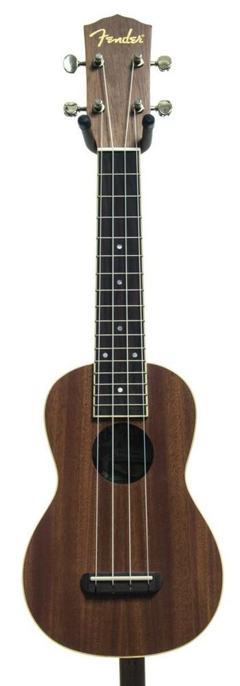 Fender Fender UUku Soprano Ukulele Mahogany Top Satin