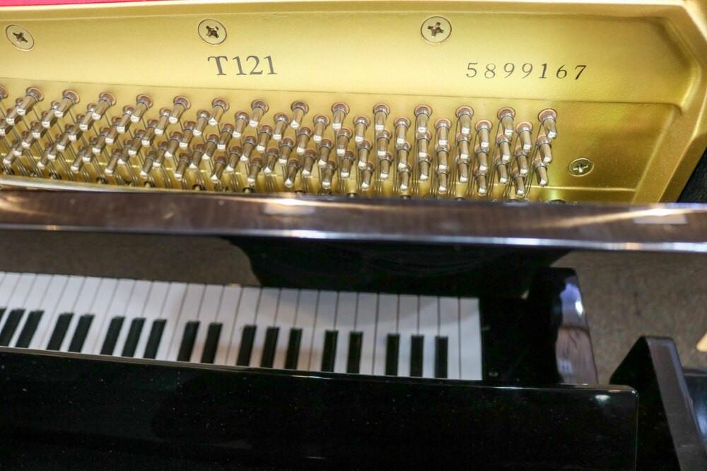 Yamaha Yamaha T121 48 Polished Ebony Upright Piano