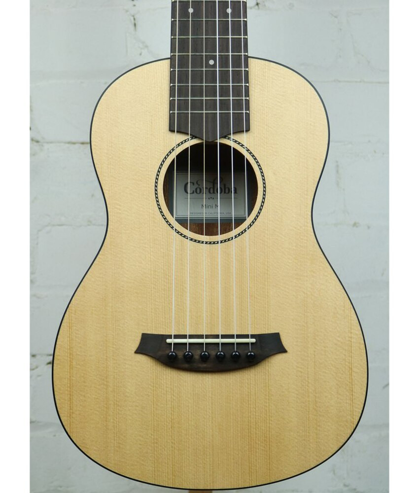 Cordoba Cordoba Mini Mahogany Nylon String Acoustic Guitar Natural