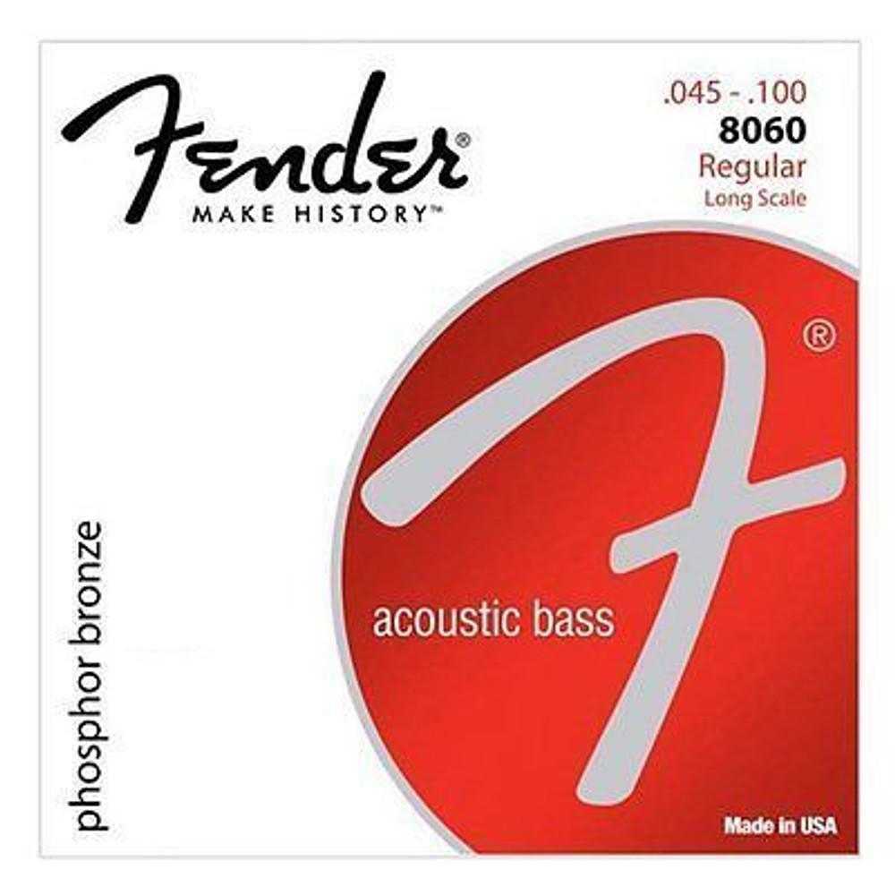 Fender Fender 8060 Reg Acoustic Bass Strings Phosphor Bronze Long Scale 45-100