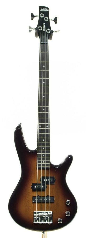 Ibanez Ibanez GSRM20BS Mikro Short-Scale Electric Bass Guitar Sunburst