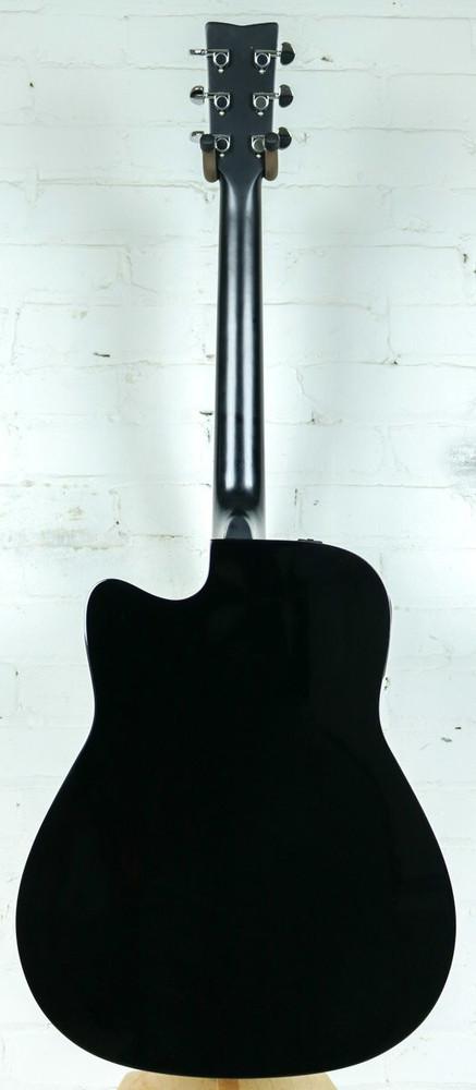 Yamaha Guitars Yamaha FGX800C Acoustic-Electric Guitar Black