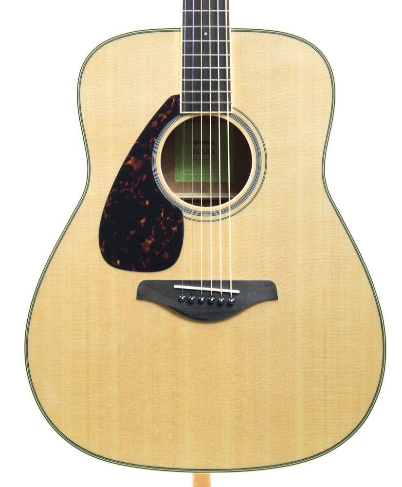 Yamaha Guitars Yamaha FG820L Dreadnought Left-Handed Acoustic Guitar Natural