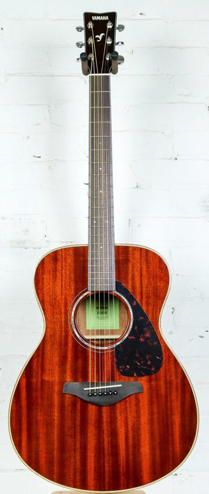 Yamaha Guitars Yamaha FS850 Concert Acoustic Guitar Mahogany Pre-Owned