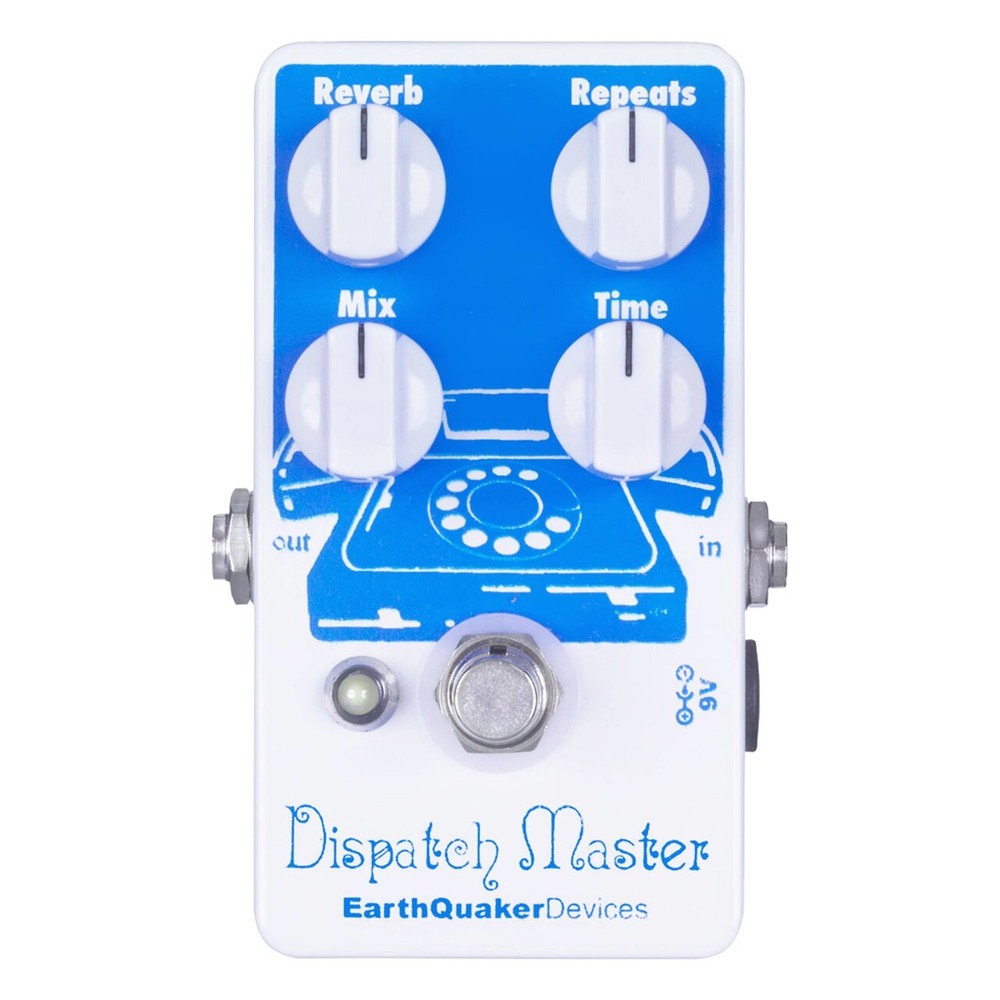 EarthQuaker EarthQuaker Dispatch Master Delay and Reverb Pedal