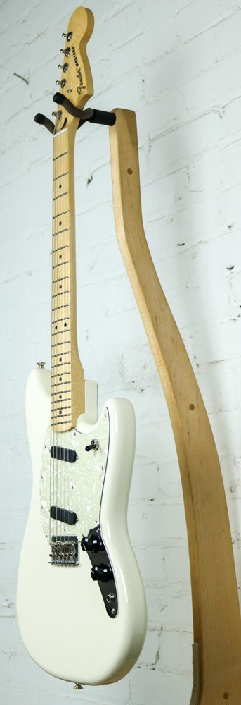 Fender Fender Offset Series Mustang Electric Guitar Olympic White